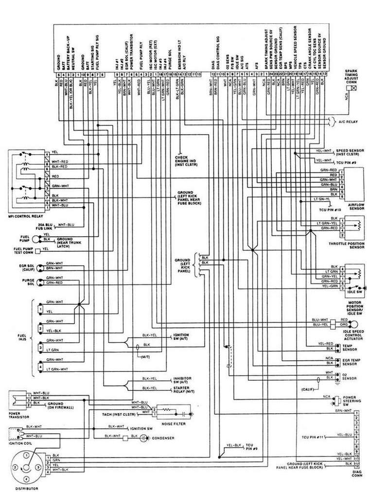 Download Stereo Wiring Diagram Toyota Celica Wiring Diagram